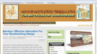 Advanced Woodworking Plans By Woodworking Ideas Dot Org