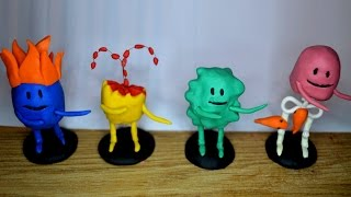 Dumb ways to die figures polymer clay tutorial part 1
