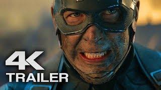 AVENGERS 4 ENDGAME Trailer 2 (4K ULTRA HD HD) 2019 - Marvel Superhero Movie