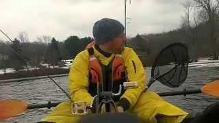 Ocean Kayak Trident Pedal Drive: Test #1