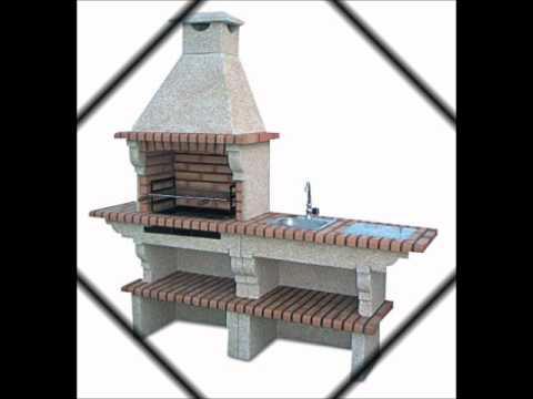 barbecue en brique vente en ligne de barbecues en briques et four pizza youtube. Black Bedroom Furniture Sets. Home Design Ideas