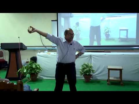 Lecture by Dr. H.C.Verma on Rotational Dynamics  Part 1/2