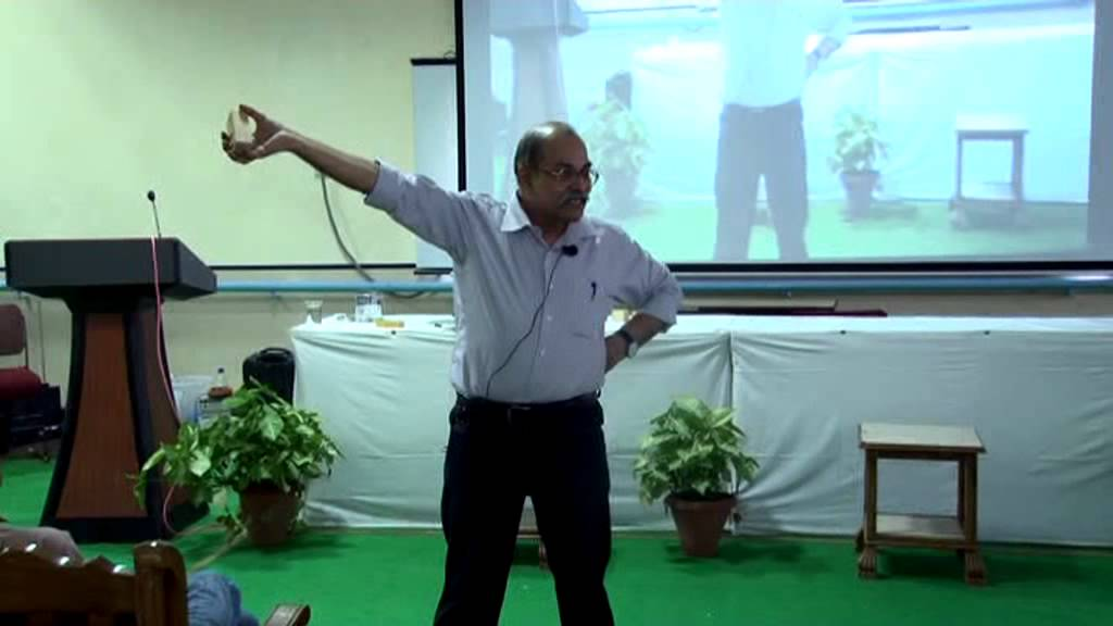 Lecture by Dr  H C Verma on Rotational Dynamics Part 1/2