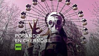 'Instagramers' acuden a Chernóbil para tomarse fotos