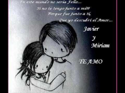 JAVIER Y MIRIAM
