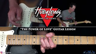 Huey Lewis and The News - The Power of Love Guitar Lesson