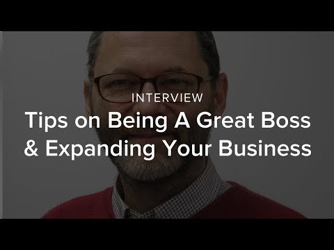 Richard Greaves Gives Tips on Being A Great Boss & Expanding Your Business
