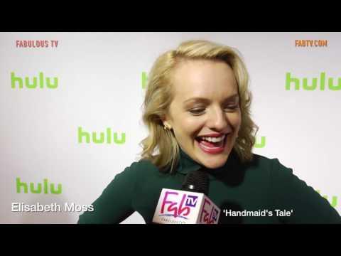 Elisabeth Moss discusses Hulu