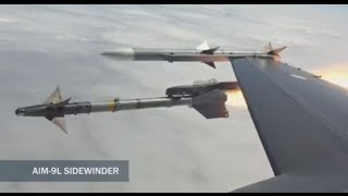 Direct Hit: F-16 jet shoots down drone in mid-air target practice