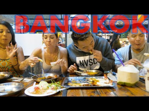 NIGHT MARKET FEAST IN BANGKOK, THAILAND & MUSIC FESTIVAL w/ Thaitanium