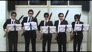 ファゴットだけで吹奏楽曲を吹く企画、「Bassoon Brass Project」 第4...