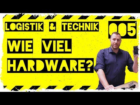 logistik&technik #005: Wie viel Hardware für den Pick und die Inventur im Lager?