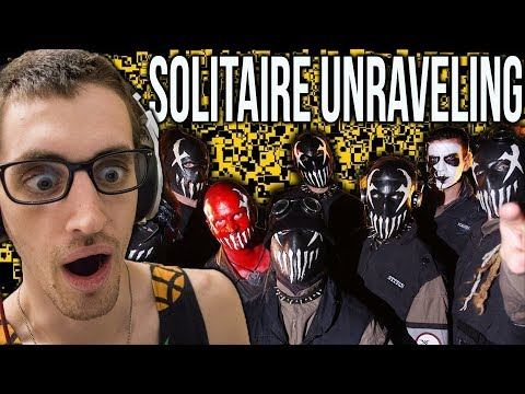 "Hip-Hop Head's FIRST TIME Hearing ""Solitaire Unraveling"" by MUSHROOMHEAD"