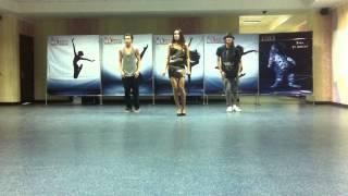 Репетиция Жанар Дугаловой с командой