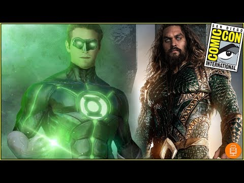 Did Jason Momoa Reveal Green Lantern in the Justice League