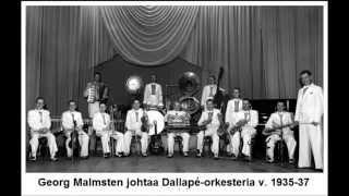 Tumma Yö, Georg Malmsten ja Dallapé-orkesteri v. 1945
