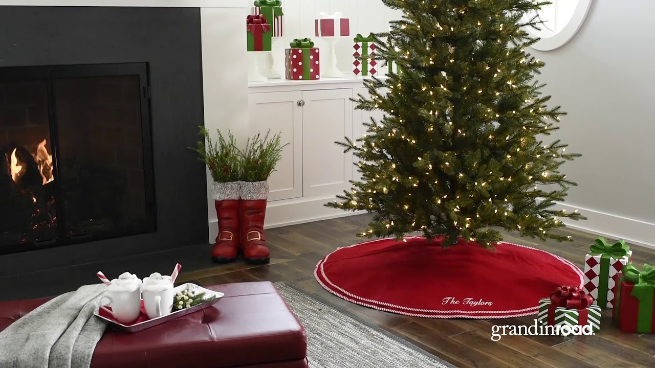 Instant Joy Christmas Tree | Grandin Road - YouTube