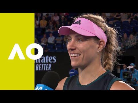 Angelique Kerber on-court interview (3R) | Australian Open 2019