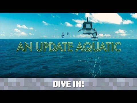 Mojang Presents... An Update Aquatic