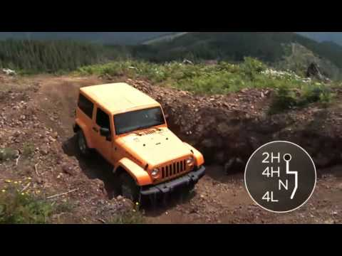 2016 Jeep Wrangler   Manual Four-Wheel Drive