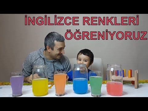 Ingilizce Renkler Sarki Ana Ve Ara Renkler Sarkisi Okul Oncesi