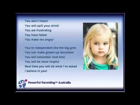 Powerful communication for great children's behaviour! By Powerful Parenting Australia