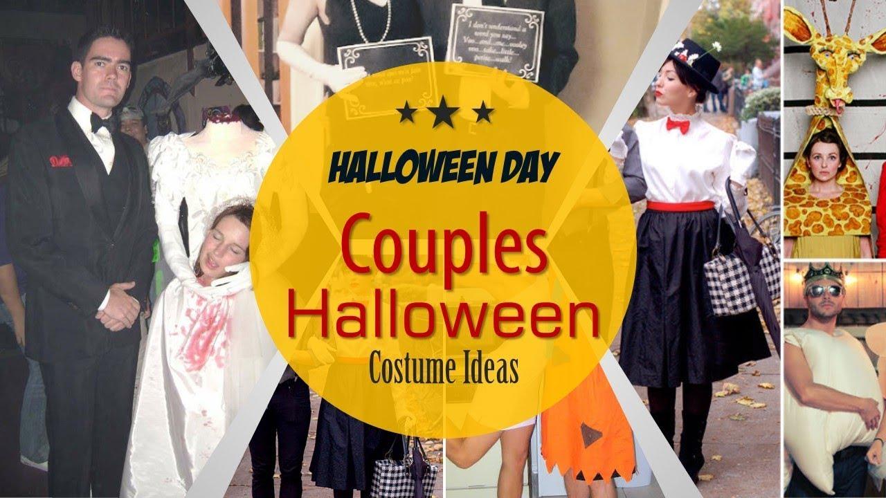 Creative Couples Halloween Costume Ideas 2017