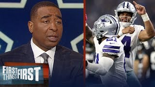 Can the Dallas Cowboys win in the postseason? Cris and Nick discuss | NFL | FIRST THINGS FIRST