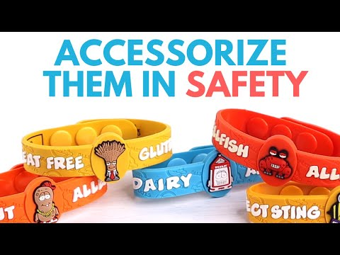 GOT FOOD ALLERGIES? Accessorize Them in Safety!