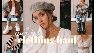 WINTER TRY-ON CLOTHING HAUL