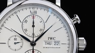 IWC ポートフィノクロノ IW391007  INTERNATIONAL WATCH CO.