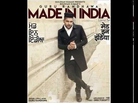 Guru-Randhawa-MADE-IN-INDIA-Bhushan-Kumar-DirectorGifty-Elnaaz-Norouzi-Vee