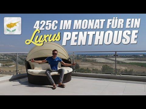 Zypern: mein 425€ Luxus-Penthouse (Roomtour)