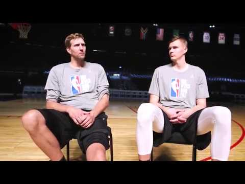 Dirk Nowitzki, never easily impressed, can't hide his excitement about Mavs rookie Luka Doncic