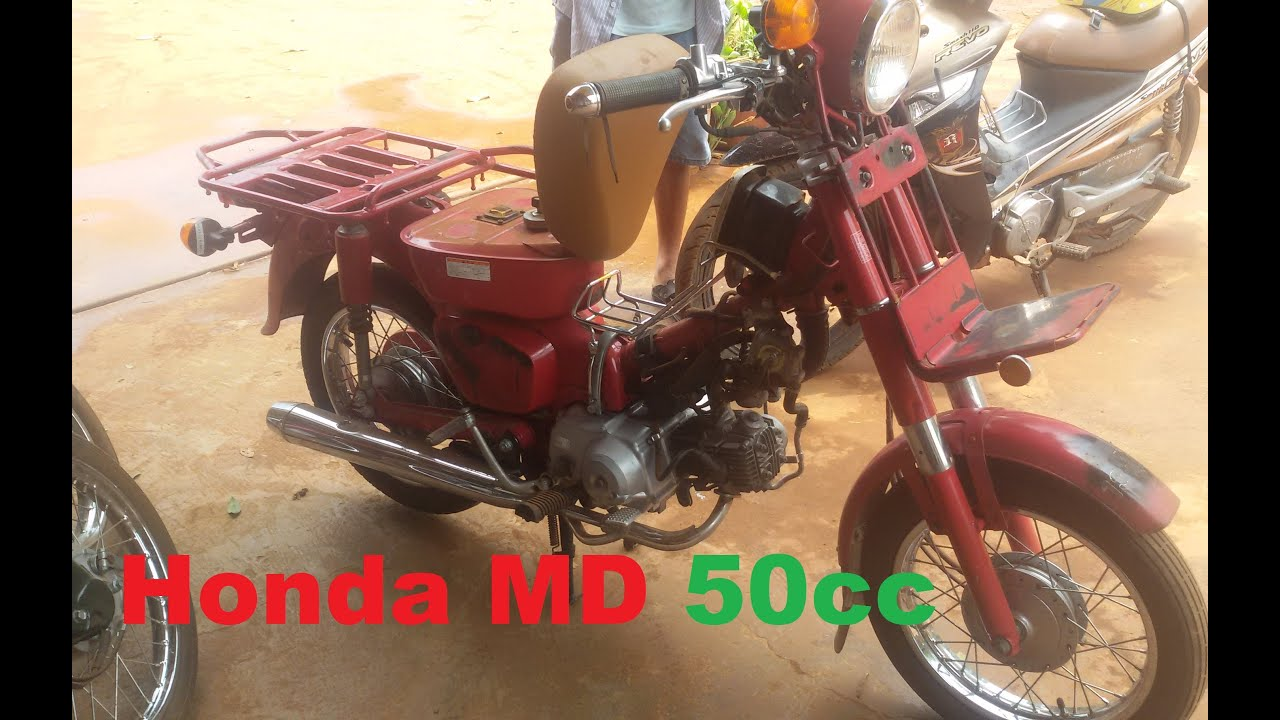 Honda MD 50cc Model 1995 Japan Postal Bike
