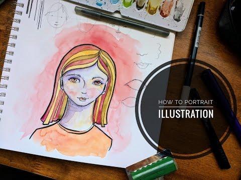 Tutorial | Portrait Illustration #1