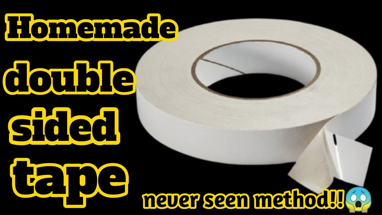 Homemade double sided tape|How to make double sided tape at home|Double sided tape making at home