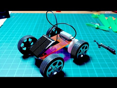 How to Make a Mini Solar Car Powered by Sun | Creative Channel