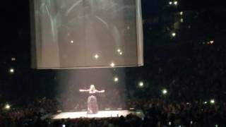Adele concert part 9 - Someone like you (Song Dedication to Ray)