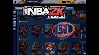 20 x Amethyst Card Unlocked + Domination Team 1! NBA 2K Mobile #29  3704 team power