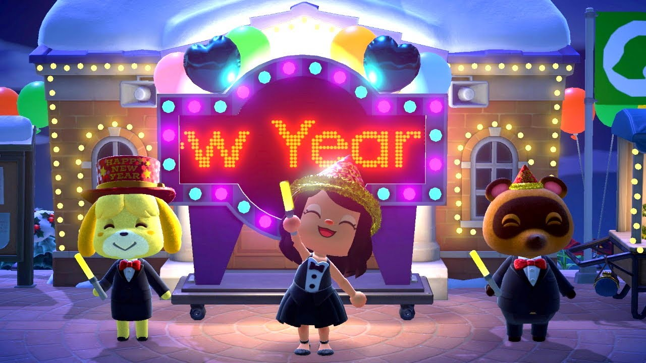 ANIMAL CROSSING NEW HORIZONS - New Year 2021 Countdown Celebration [Part 2 of 2]