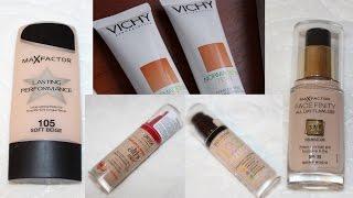ТОП 6: Тональные крема для жирной проблемной кожи
