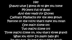 Flo Rida ft. T-Pain - Low  *LYRICS*