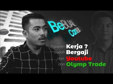 Ngapain Kerja? Sudah Bergaji dari Youtube & Olymp Trade.