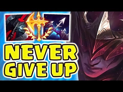 ENTIRE TEAM WANTED TO FF! NIGHTBRINGER LEE SIN JUNGLE (FULL AD)   THIS IS WHY YOU DON'T GIVE UP!
