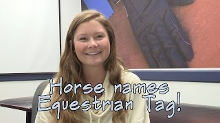 Horse Names Equestrian Tag - SmartPaker Mae