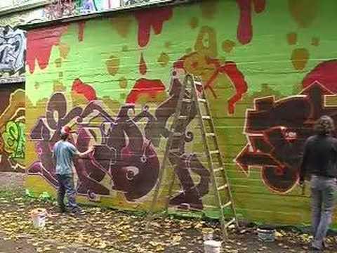 Graffiti from Hamburg Germany, OBS Crew