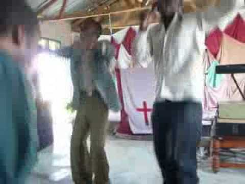 African worship and dance: Dar es Salaam, Aug.  2008, part 2