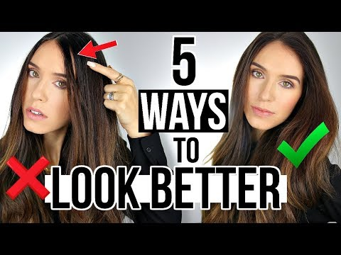 5 Ways To INSTANTLY LOOK BETTER Than Yesterday!