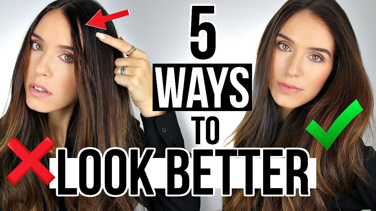 ways to look prettier instantly